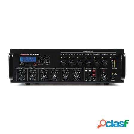 Amplificador de zonas fonestar mpz-6480rgu - 6 zonas -