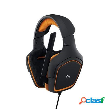 Auriculares gaming con microfono logitech g231 prodigy -