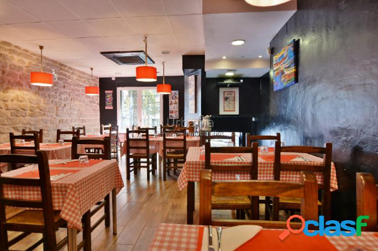 Local actualmente Cafetería-Restaurante en av. Estación en