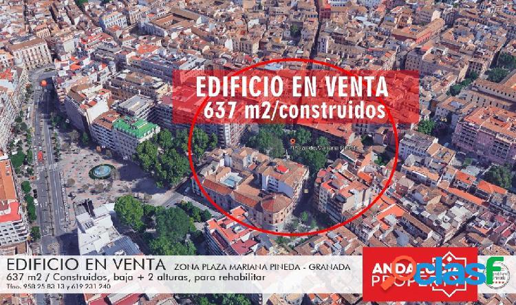 Palacete en venta, centro de Granada