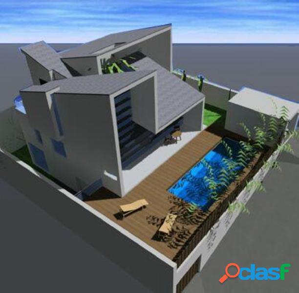 Parcela de 396 m2 para construir con proyecto