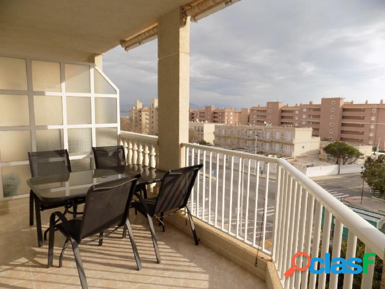 Playa a 5 minutos !!! con vistas a la bahía de Alicante