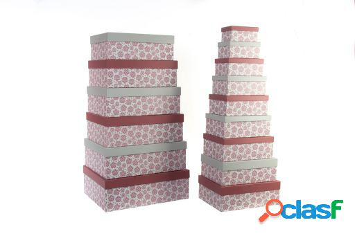Wellindal Caja set 15 cartón 58x46x20,5 1800 gsm. alpino