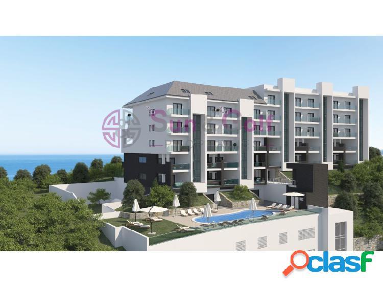 Apartamentos de 2 y 3 habitaciones desde 134,800 Euros.