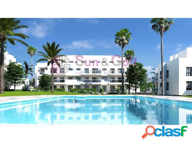 Apartamentos de 2 y 3 habitaciones desde 167.500 euros.
