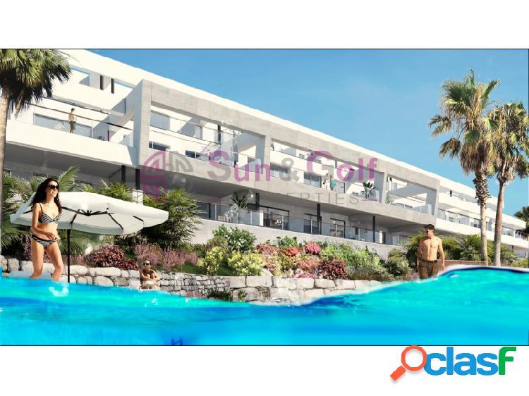 Apartamentos de 2 y 3 habitaciones desde 184,200 Euros.