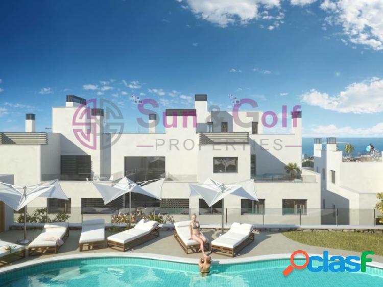 Apartamentos de 2 y 3 habitaciones desde 290,000 Euros.