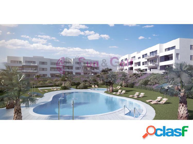 Apartamentos desde 189,500 Euros.