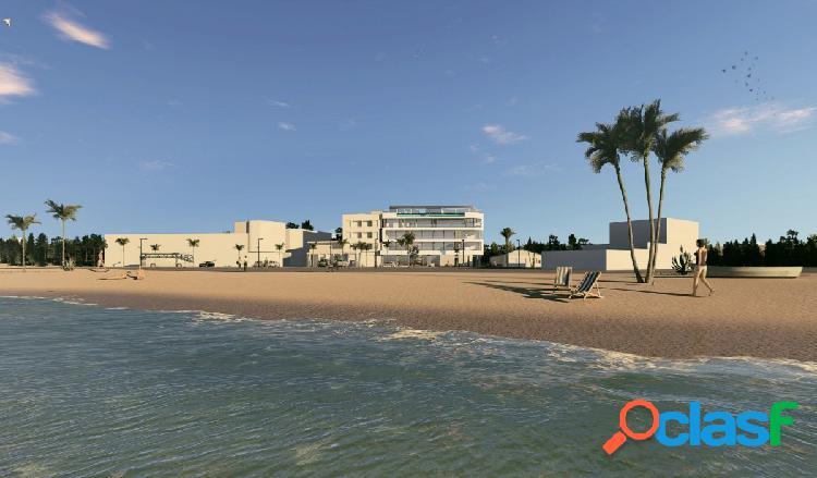 Apartamentos en primera línea de playa, Lo Pagán, San