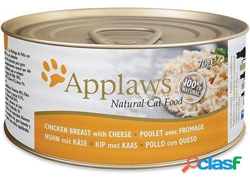 Applaws Lata de Pechuga de Pollo con Queso para Gatos 70 GR