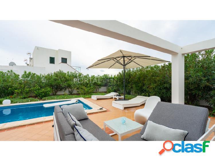 Chalet con piscina privada en Torresoli, Menorca