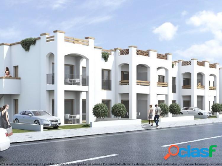 Próxima construcción de bungalows en la Hoya.