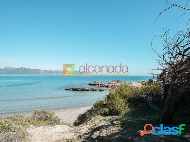 Solar a la venta con vistas al mar en Alcudia, Mallorca.