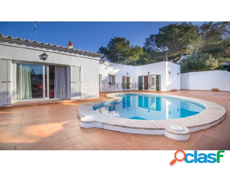 Una casa en lugar tranquilo y agradable de Addaia, Menorca