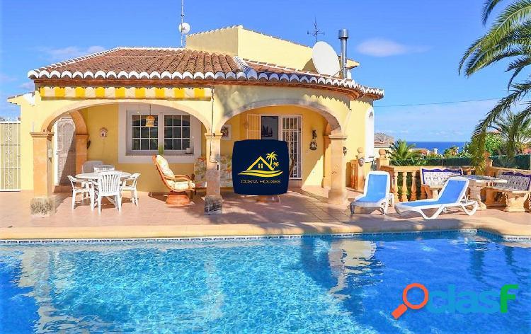 Villa con Vistas al Mar en Javea · PINOSOL orientada al SUR