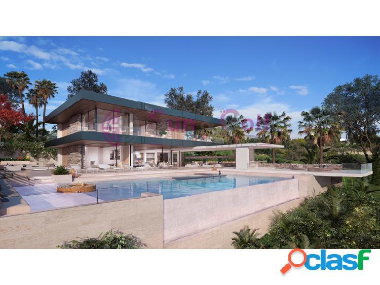 Villa de estilo contemporáneo