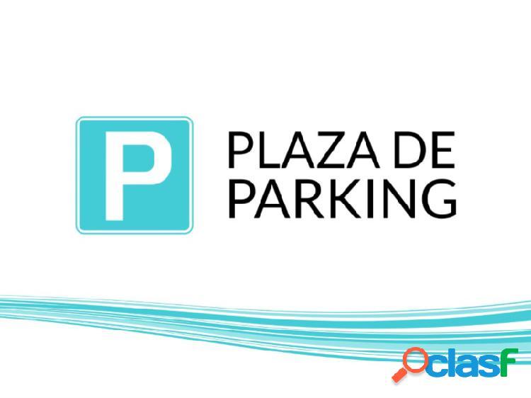 Alquiler plaza de parking en Los Colibrís.