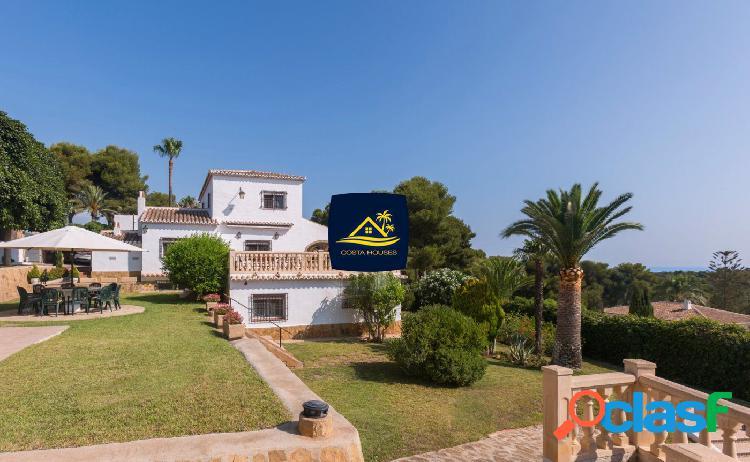Villa Mediterránea con Vistas al MAR en TOSALET · Javea |