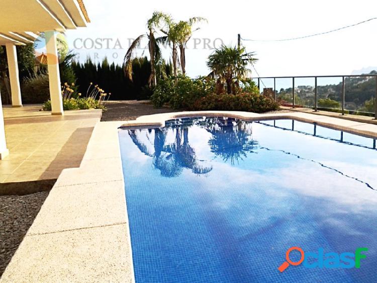Villa de Lujo con vistas al mar en la Sierra de Altea Golf,