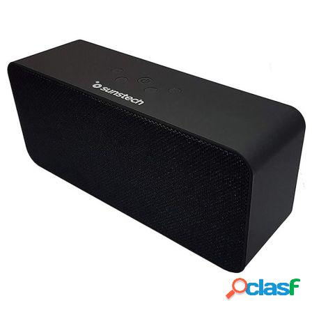 Altavoz bluetooth sunstech spubt780 black - 2*3w rms - bt4.1
