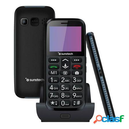Telefono movil senior sunstech cel3bk - pantalla lcd
