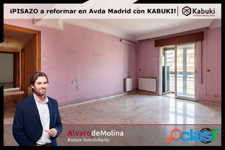 Gran piso en Avenida de Madrid para reformar a tu gusto.