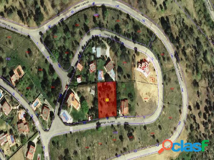 Parcela urbana de 1175m2 muy cerca de Girona