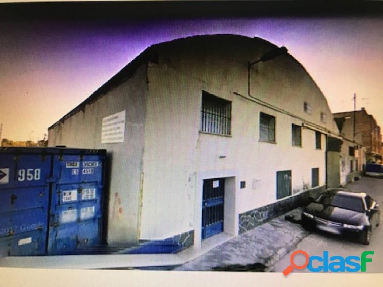VENTA NAVE INDUSTRIAL EN MURCIA CARRETERA BENIAJAN, 400 M2.