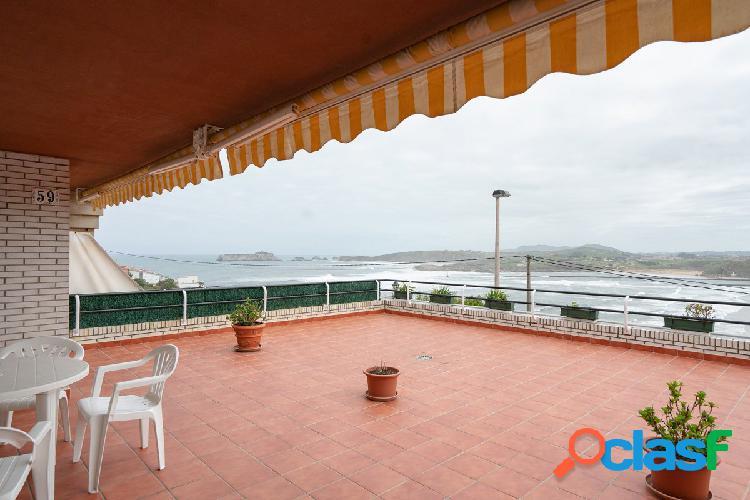 Venta de piso en la playa de Suances 230.000€