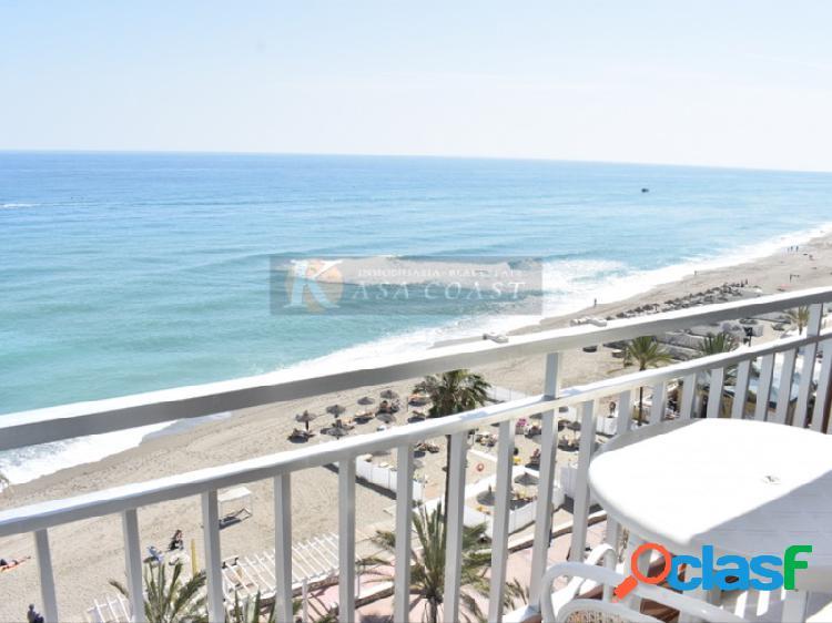 Piso en alquiler en 1º línea de playa, Fuengirola centro.