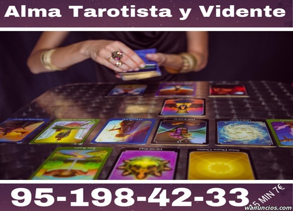 ALMA TAROTISTA Y VIDENTE SINCERA - Madrid