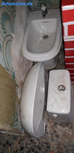 Bidet,Lavabo Y Cisterna Roca