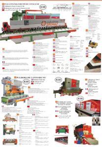 Fabricación de maquinaria para terrazo mármol y otros