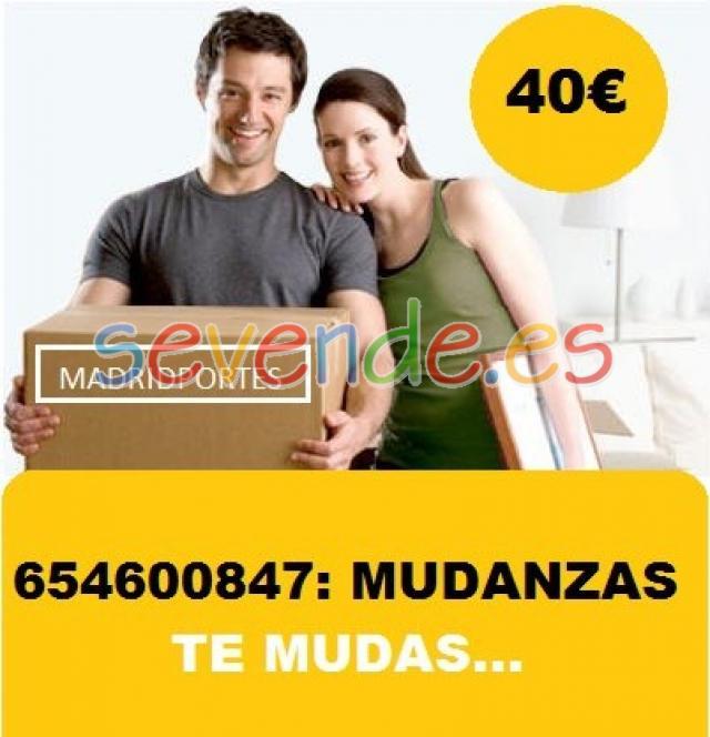 MUDANZAS URGENTES PARLA65x46oo8x47MADRIDPORTE