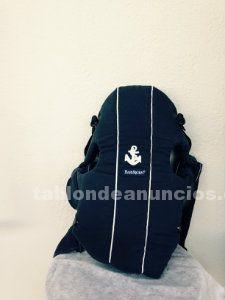 Mochila portabebé original babybjÖrn y funda de forro