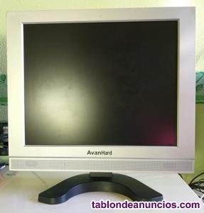 "Monitor plano de ordenador lcd de 17"""