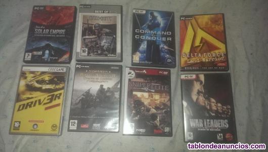 Pack 8 juegos pc (originales)