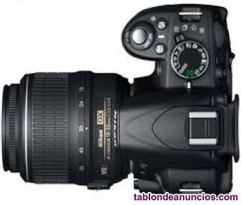 Se vende camara reflex nikon d con pantalla lcd