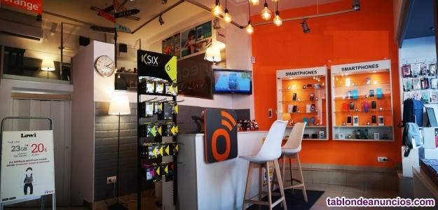 Traspaso tienda de servicios de comunicaciones y telefonía