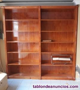 Vendo estanterías de madera