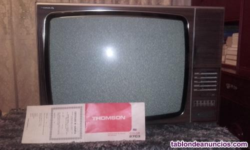 Vendo televisión antigua thomson