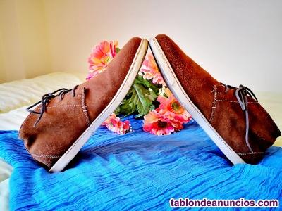 Zapato caballero de ante t 45