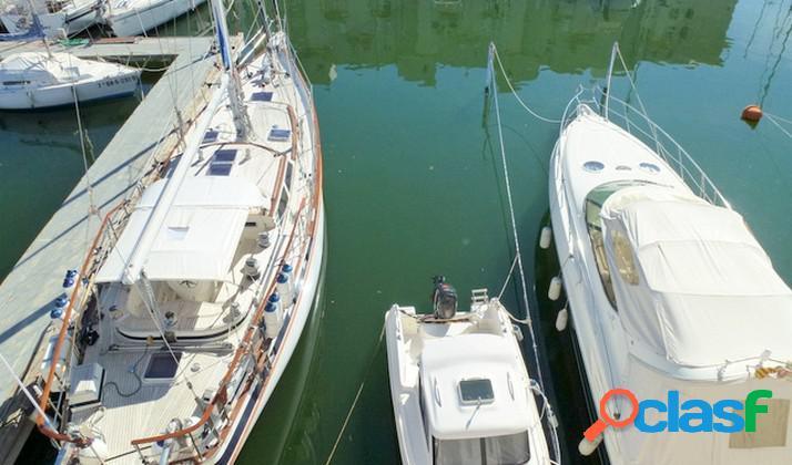 Casa pescador con amarre para velero 17x4.5 m