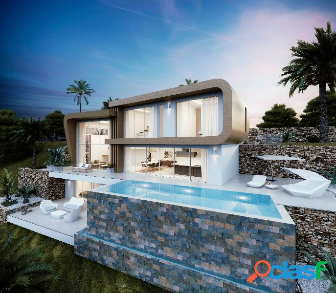 Esta villa de diseño moderno s