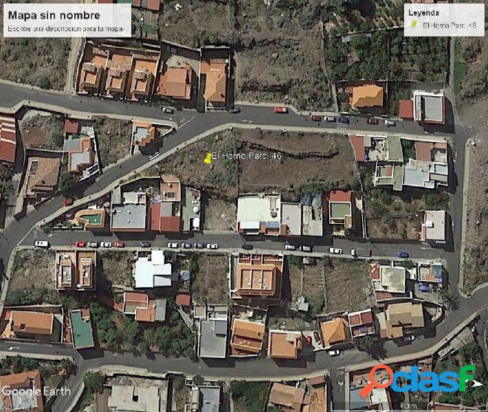 Parcela urbana en venta en El Horno (Arguineguin).