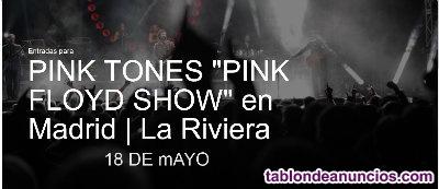 Vendo dos entradas para concierto de los pink tones, tributo