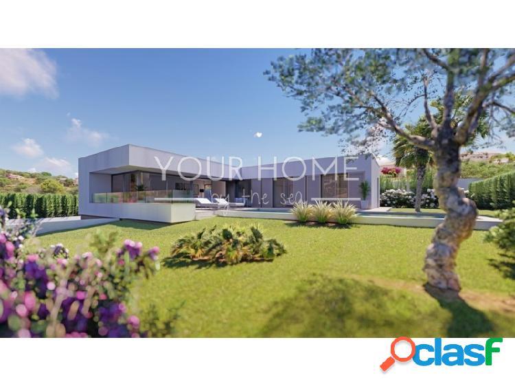Villa de nueva construcción en la Fustera, Benissa Costa