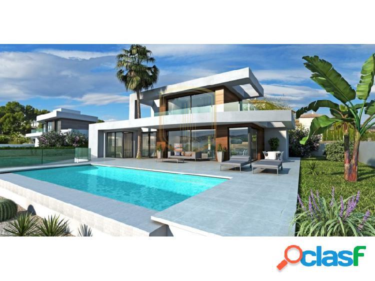 Villa de nueva construcción en venta Moraira