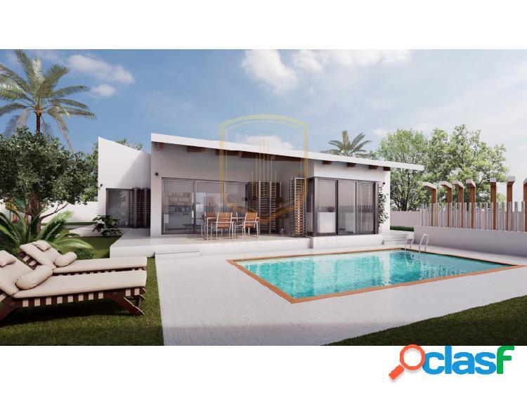 Villa en construcción