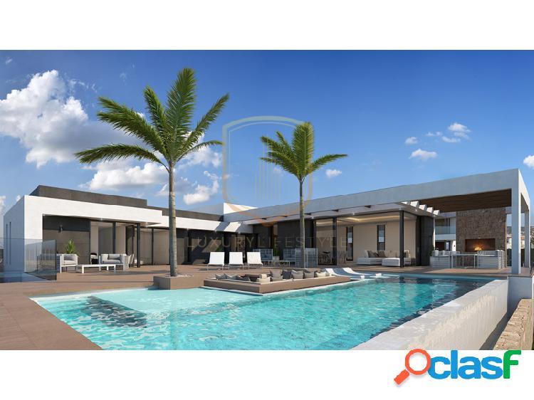 Villa moderna y contemporánea de impresionantes vistas al